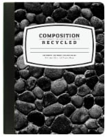 Top Flight Recycled Basics College Rule Composition Notebook - 100 Sheets