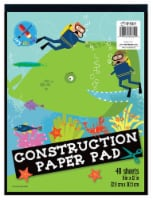 Top Flight Construction Paper Pad - 48 Sheets