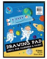Top Flight Drawing Pad - 9 x 12 in