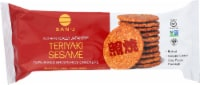 San-J Gluten Free Teriyaki Sesame Rice Crackers - 3.6 oz