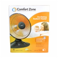 Comfort Zone Oscillating Radiant Heater - 1 ct