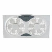 Comfort Zone 3-Speed Dual Reversible Window Sill Fan - 9 in