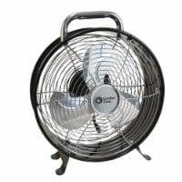 Comfort Zone Retro Utility Fan - Assorted