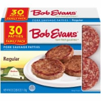 Bob Evans Farm-Fresh Goodness Regular Pork Sausage Patties Family Pack