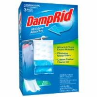 DampRid Pure Linen Hanging Moisture Absorber - 3 Pack