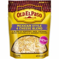 Old El Paso Mexico Style 4 Cheese Blend Shredded Cheese - 8 oz