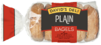 David's Deli Plain Bagels 5 Count