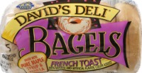 David's Deli French Toast Bagels