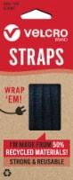 Velcro® ECO Velcro Straps - 6 Pack - 5 x 0.37 in