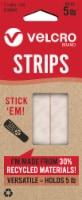 Velcro® ECO Velcro Strips - 8 Pack - 2.5 x 0.75 in