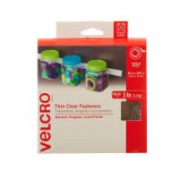 Velcro® General Purpose Thin Clear Fasteners Roll - 15 ft