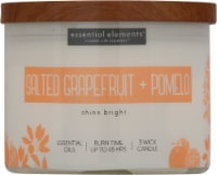 Candle-lite Essential Elements Salted Grapefruit & Pomelo Candle