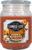 Candle-lite Pumpkin Nutmeg Pie Jar Candle - Orange
