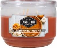 Candle-lite Pumpkin Nutmeg Pie Jar Candle