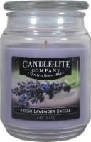 Candle-lite Fresh Lavender Breeze Jar Candle