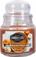 Candle-lite Limited Edition Pumpkin Nutmeg Jar Candle - Orange
