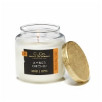 Candle Lite CLCo™ No. 31 Amber Orchid Glass Jar Candle - White