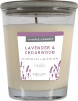 Candle-lite Essential Elements Lavender and Cedarwood Glass Jar Candle