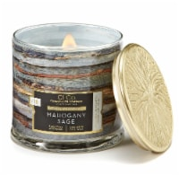 Candle-lite CLCo™ Mahogany Sage Natural Wooden Wick Jar Candle