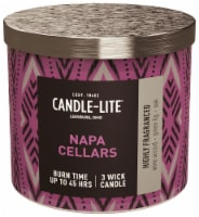 Candle-lite Napa Cellars Jar Candle - Purple