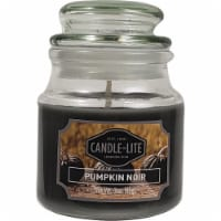 Candle-lite Pumpkin Noir Scent Candle - Black