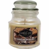 Candle-lite Campfire Moments Scent Candle - White