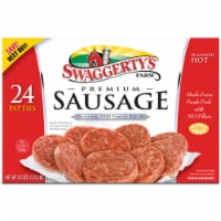 Swaggerty's Farm Hot Country Sausage Patties