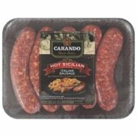 Carando Classic Italian Hot Sicilian Italian Sausage - 19 oz
