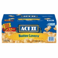 ACT II Butter Lovers Microwave Popcorn, 2.75 Ounce (32 Pack) - 1 unit
