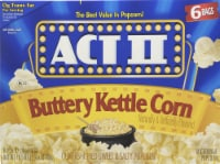 Act II Buttery Kettle Corn Popcorn 6 Count