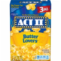 Act II Butter Lovers Popcorn
