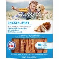Ruffin' it Healthfuls Chicken Flavor Jerkey Dog Treat, 1 Lb. 08320 - 1 Lb.