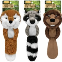 Westminster Pet Ruffin' it Crinkle Tail Critters 15 In. Squeaky Fox Dog Toy