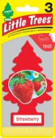 Little Trees Strawberry Air Fresheners 3 Pack