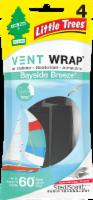 Little Trees Vent Wrap Bayside Breeze Car Freshener - 4 pk