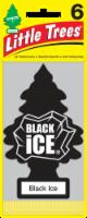 Little Trees Black Ice Car Fresheners