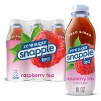 Diet Snapple® Raspberry Tea - 6 bottles / 16 fl oz