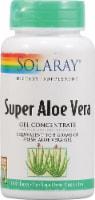 Solaray Super Aloe Vera Gel Concentrate Capsules - 100 ct