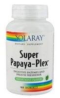 Solaray  Super Papaya-Plex™   Fresh Mint