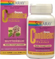 Solaray  Original Continence® with Flowtrol™ - 60 Vegetarian Capsules