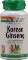 Solaray Korean Ginseng Root Capsules 550 mg