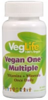 VegLife Vegan One Multiple with Iron Tablets - 60 ct