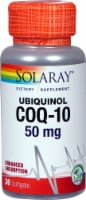 Solaray  Ubiquinol CoQ-10 Dietary Supplement