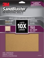 3M SandBlaster 150 Grit Medium Sandpaper - 4 pk
