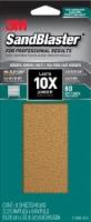 3M SandBlaster 80 Grit Sanding Sheets - 6 Pack
