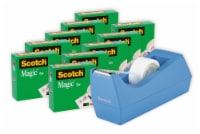 Scotch® Magic™ Tape with Dispenser - 11 pc - Clear/Periwinkle