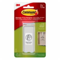 Command™ Modern Reflections Oil Rubbed Metal Hook - Bronze
