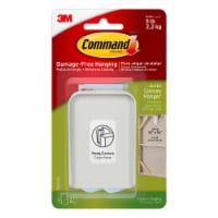 Command™ Jumbo Canvas Picture Hanger Hook - White