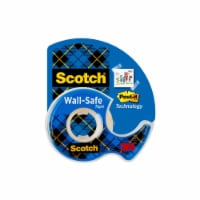 Scotch® Wall-Safe Tape - Clear