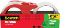 Scotch® Moving Packing Tape with Dispenser 2 Pack - Red
